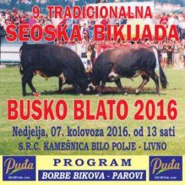 "NAJAVA: Seoska olimpijada starih športova i borba bikova ""Buško Blato 2016"""