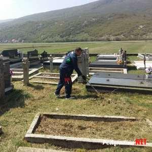 FOTO: Druga radna akcija čišćenja groblja