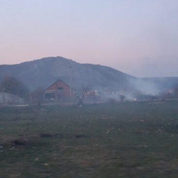 U požaru na Bilom Polju izgorila štala
