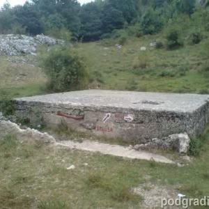 IZ PROŠLOSTI: Stara čatrnja u blizini izvora Ozrne