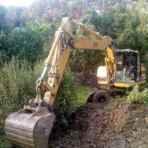 FOTO: Očišćen seoski potok